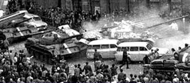 Discursul lui Ceausescu impotriva interventiei in Cehoslovacia